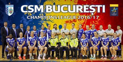 Performanta: CSM Bucuresti s-a calificat in sferturile ...  |Csm Bucuresti
